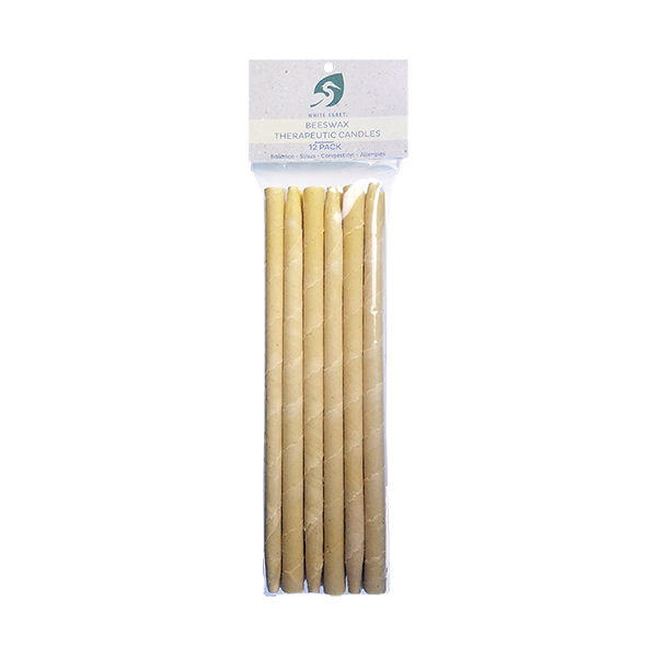 Beeswax Candles 12 Pk